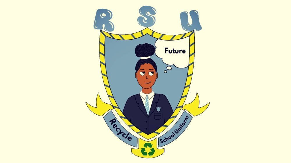 Recycle School Uniform logo